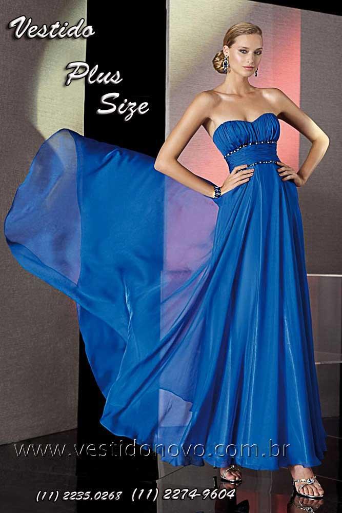 Vestido azul royal infantil mercado livre
