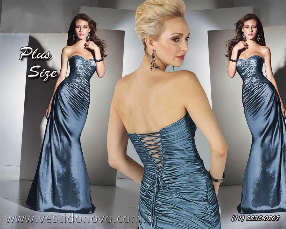 Vestido de madrinha azul royal em sp